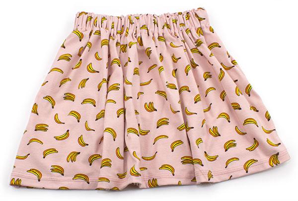roze met bananen