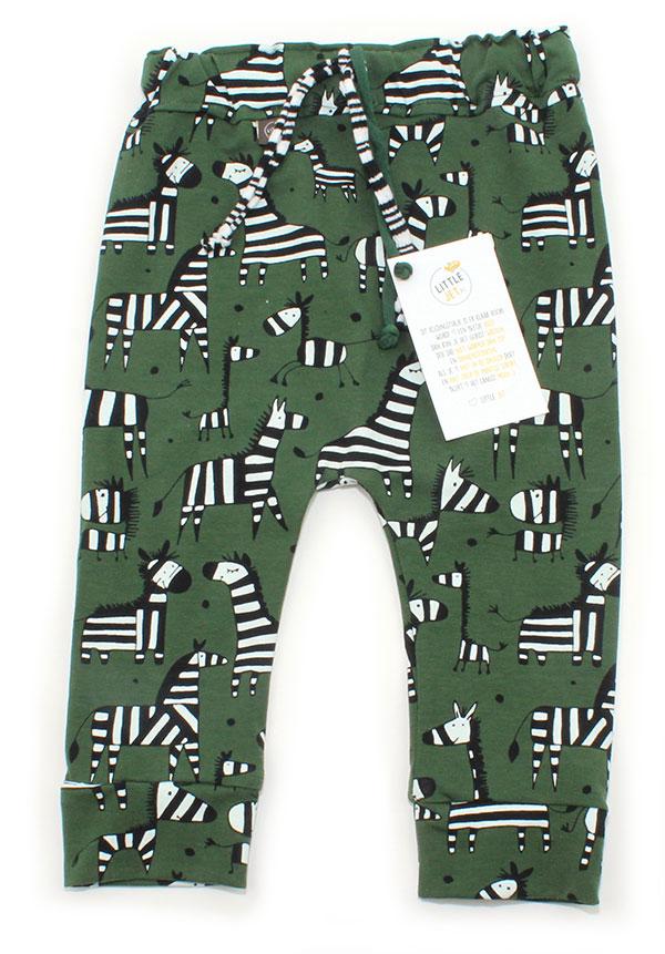 groen met zebra