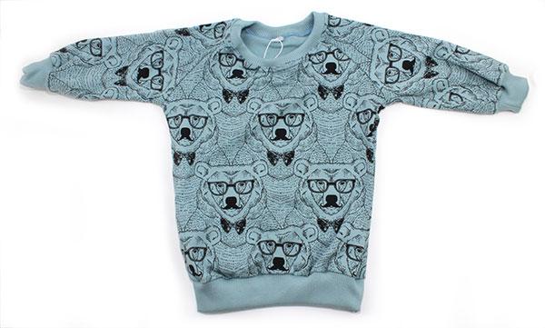 blauw met beren