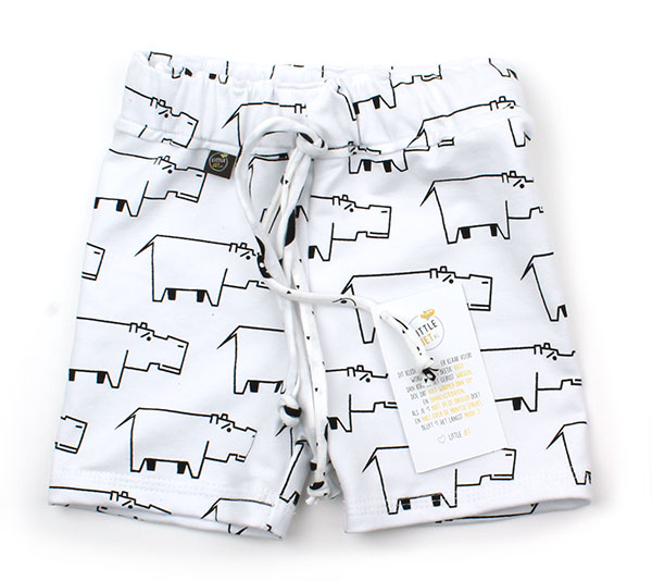 wit met nijlpaarden