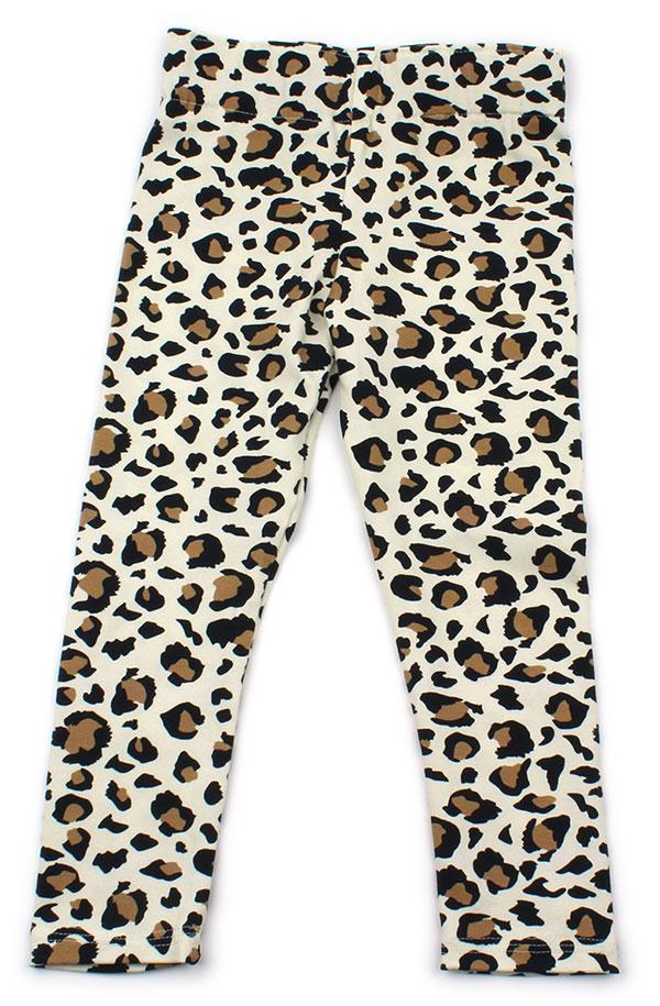 cremewit luipaardprint
