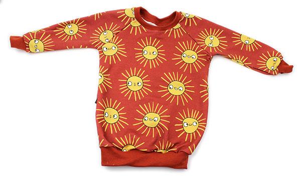 roest met zonnetjes