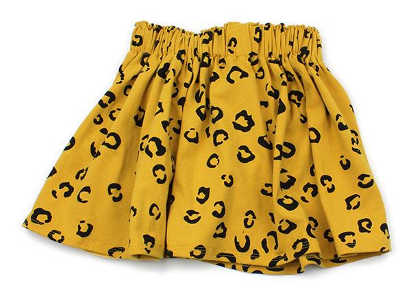 geel met luipaardprint