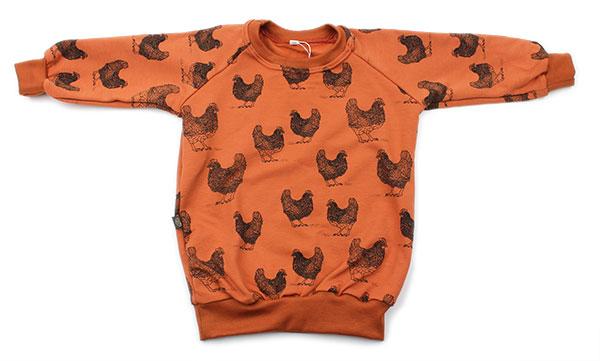 roest met kippen