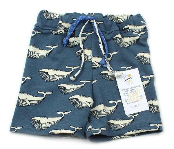 blauw met walvissen