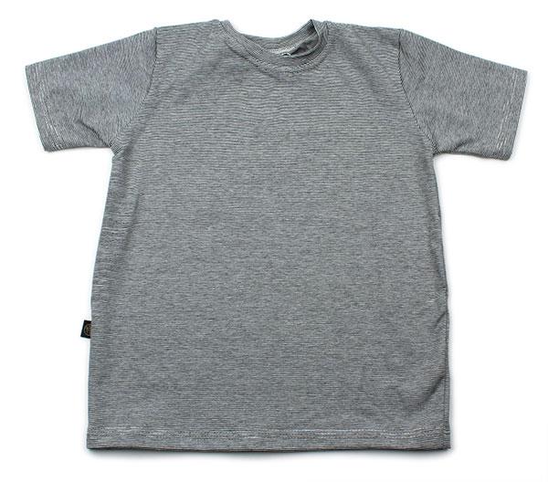 zwart-wit streepje dun