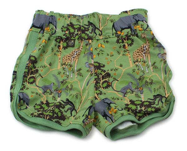 groen met olifant en giraf