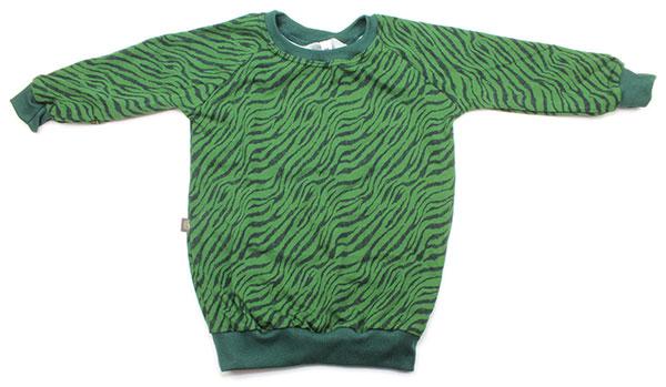 groen zebraprint