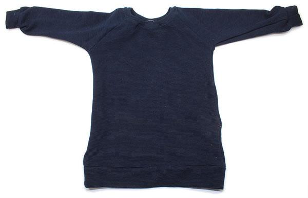 donkerblauw rib