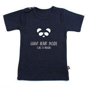 Giant heart inside - like a panda