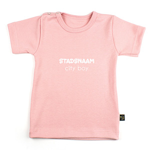 stadsnaam city boy (naamshirt)