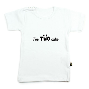 im two cute (verjaardagsshirtje)